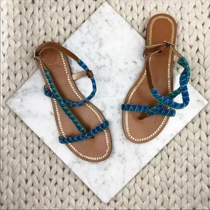 Vince Camuto Raminta Turquoise Suede Sandals